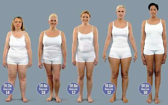 american-women-who-all-weigh-154-pounds