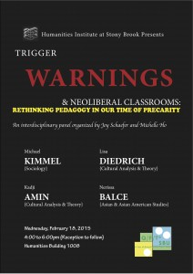 Trigger Warnings Panel poster red copy small