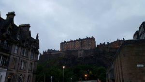 castle at 10 pm
